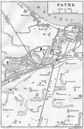 BRITISH INDIA. Patna city plan. Railways buildings Race course Ganges 1924 map